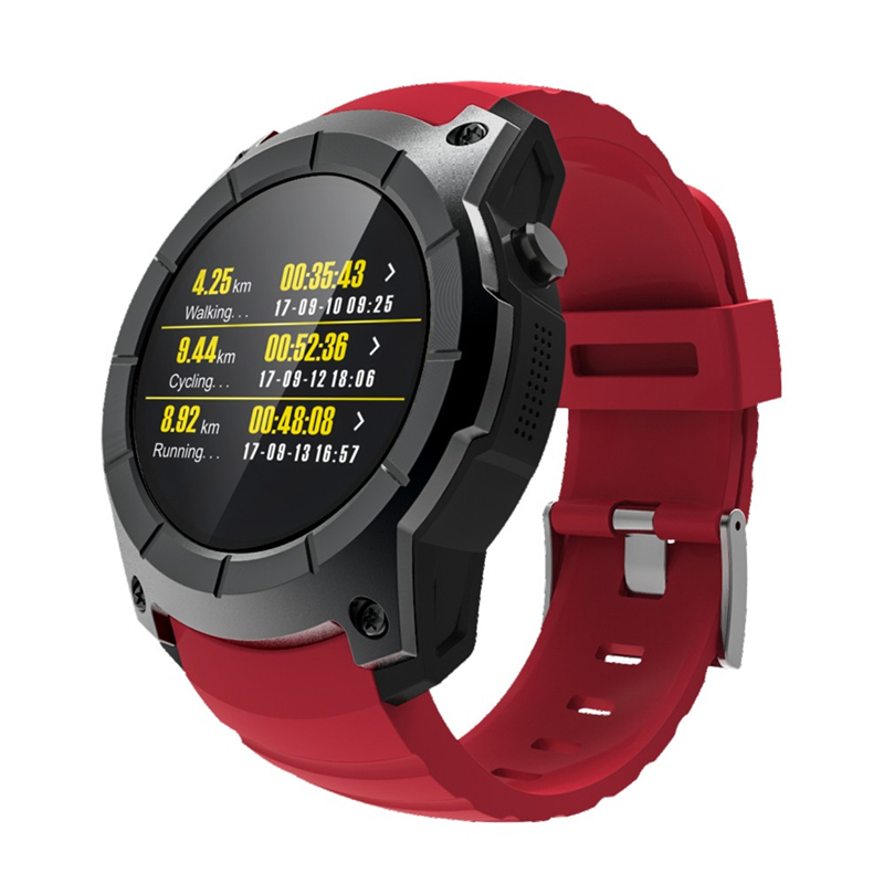 GPS Watch Android IOS Waterproof Sports Activity Tracker Heart Rate Monitor Smart Watch Air Pressure Monitoring Support SIM Card reloj inteligente gt88 bluetooth smart watch waterproof heart rate monitor smartwatch for ios android phone support tf sim card