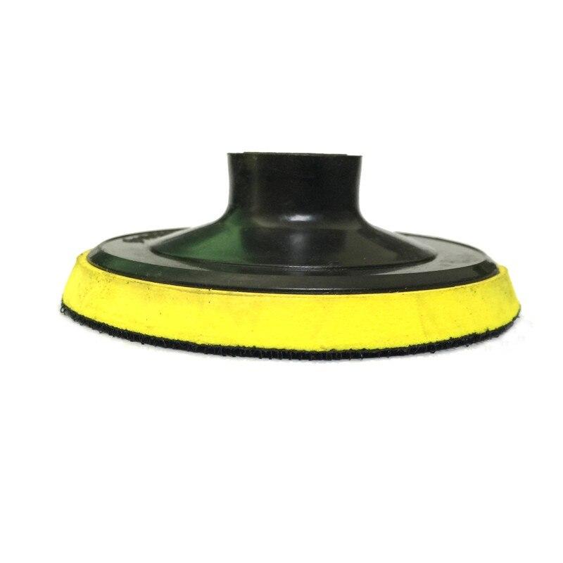 RIJILEI 100 мм M10/M14 самоклеющиеся Резиновые задние накладки для мрамора гранита Пузырьковые пластиковые накладки для полировки 4HF