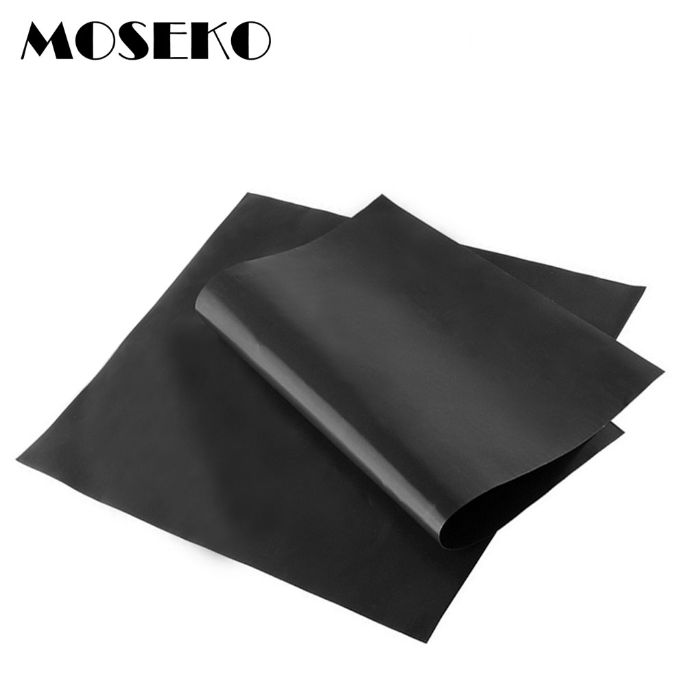 Moseko Barbecue Grill Mat Non Stick Reusable Bbq Grill