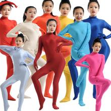 Adult Spandex Zentai Full Body Skin Tight Jumpsuit Unisex Zentai Suit Bodysuit Costume for Women Unitard Lycra Dancewear
