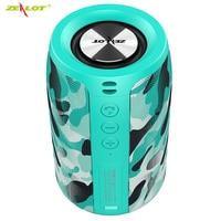 ZEALOT S32 Mini Portable HIFI Subwoofer Bluetooth Speaker with fm radio Small Wireless Speaker Column Support TF card,U disk