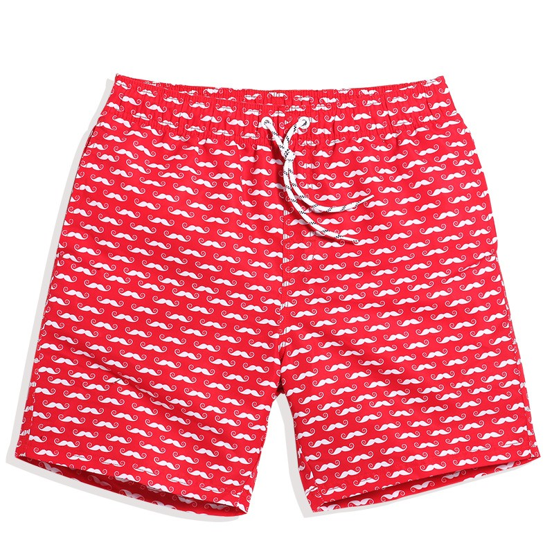 Men's Clothing Well-Educated 2017 Men Board Shorts Red Color Fashion Mens Jogger Short Breathe Grid Quick-dry Shorts S-3xl To Clear Out Annoyance And Quench Thirst