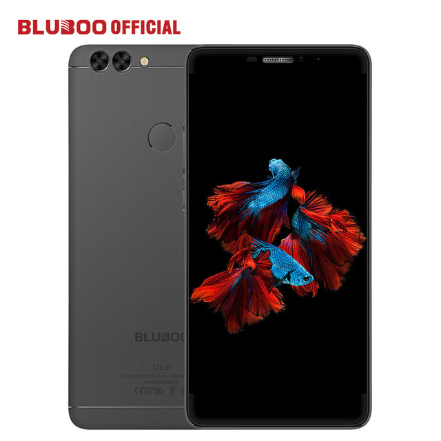 "BLUBOO Dual Мобильный Телефон 5.5 ""FHD 13MP Двойная Камера Заднего Вида 4 Г LTE MTK6737T Quad Core 2 Г RAM 16 Г ROM Android 6.0 3000 мАч Сотовый телефон"