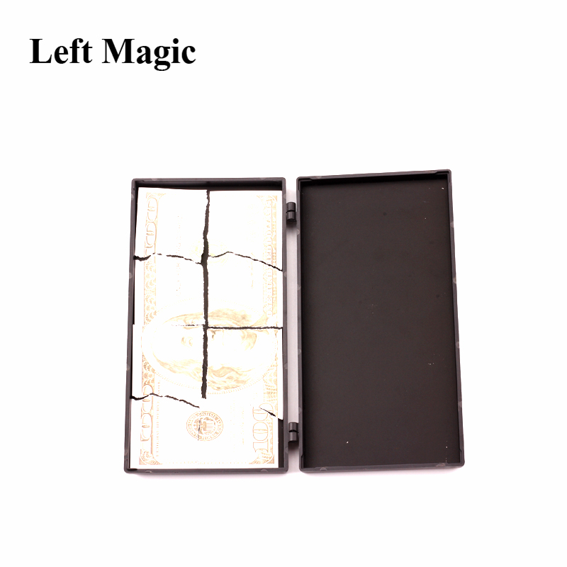 US $3 28 22% OFF|Card Money Switching Box Magic Tricks Magic Box To Money  For Twice Surprise Box Bill Box Close Up Magic Appearing Magic Props-in