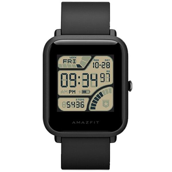 Original Xiaomi Huami AMAZÔNIA bip Smartwatch Tela De Vidro Corning Gorilla Versão Internacional Sono Monitor de Freqüência Cardíaca GPS