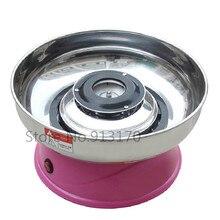 Máquina de algodón de Azúcar comercial Pequeño mini Eléctrica Máquina de Algodón de Azúcar de Color Rosa Color de 220 V
