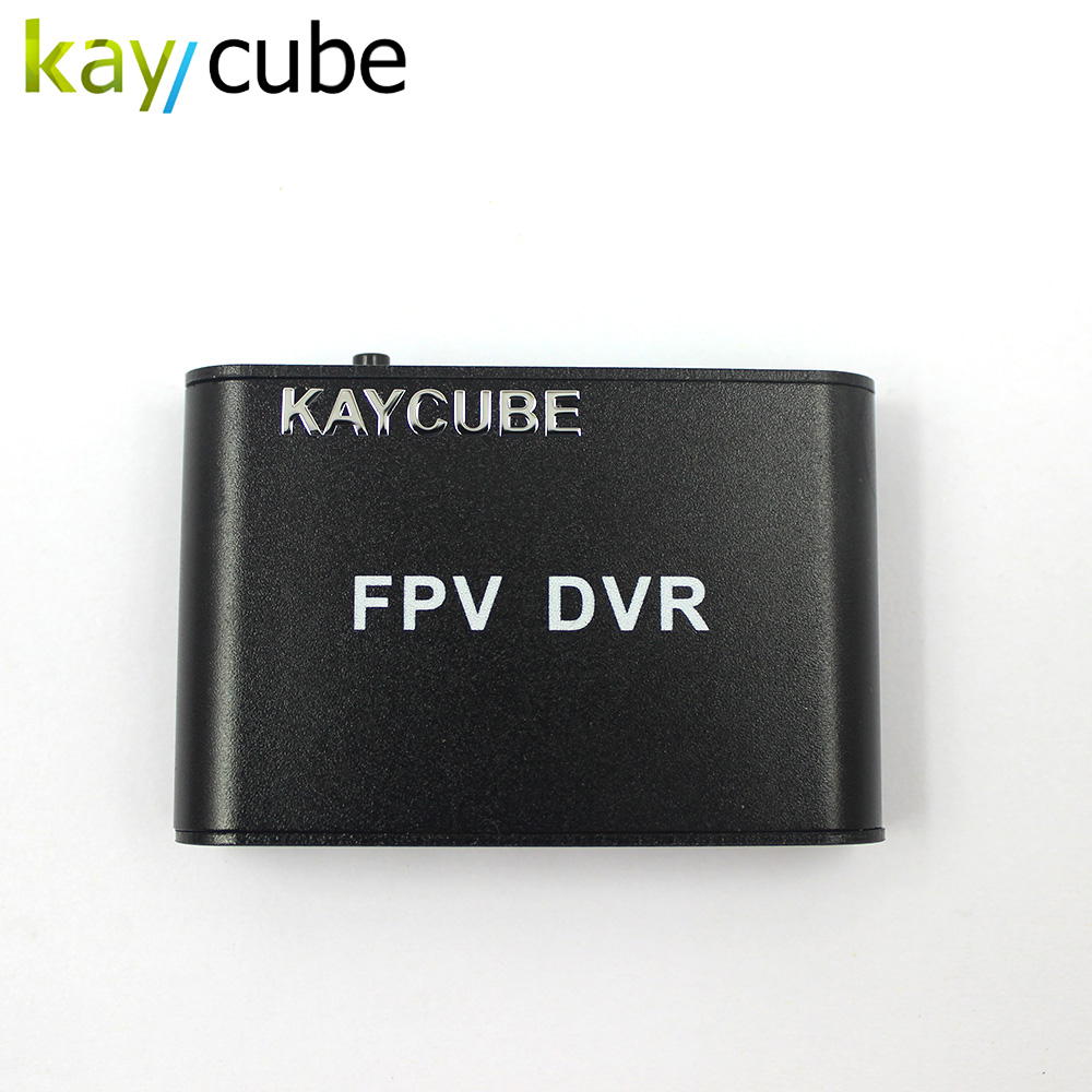 kaycube Micro Size 1-CH Micro SD DVR High Resolution Digital Video Recorder for FPV Mini Fpv DVR 1 ch car dvr module d1 resolution mpeg 4 compressive format 32gb sd card supported mini size 60 45mm