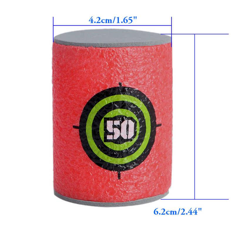 OOTDTY 6 stks/set Schuim Kogel doelen shot doel Retaliator Series Blasters Darts producten Hot