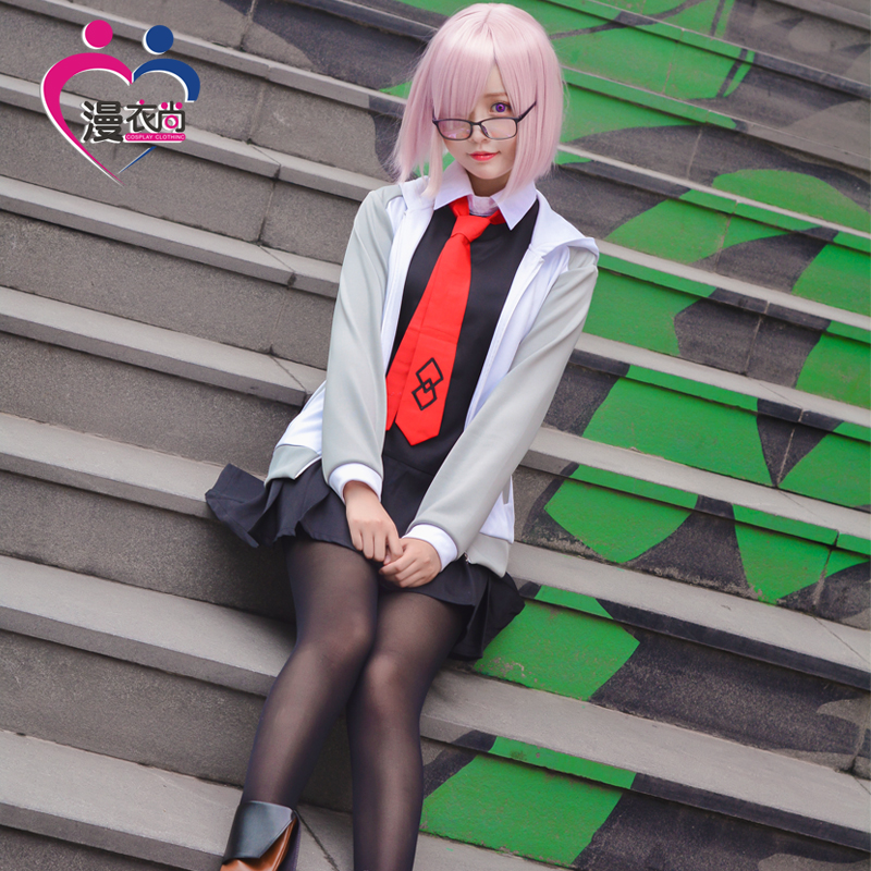 Game FGO Fate Grand Order Servant Shielder Matthew Kyrielite Cosplay Daily Coat Dress Full Uniform Suit Halloween Costume