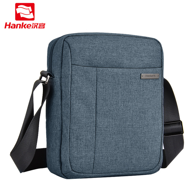 Hanke Men Crossbody bag male shoulder bags casual messenger bag business Water Repellent men's travel Chest bags H6617