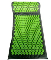 Yoga Acupressure Massage Cushion Body Pain Stress Relief Acupuncture Massage Mat Spike Yoga Mat with Pillow Body Massager