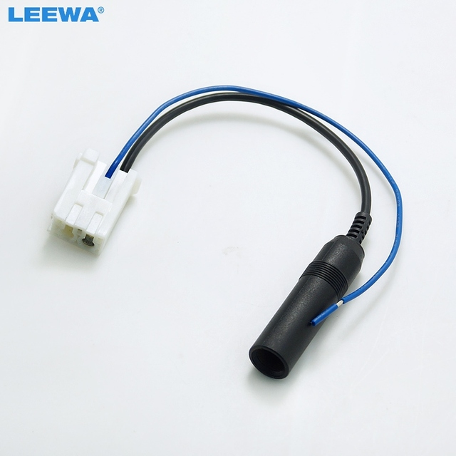 Leewa 10pcs Car Aftermarket Stereo Male Antenna Adapter For Toyota Tacoma Audio Parts