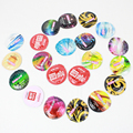 ELASUN 1 pcs Random delivery Ultra Thin Condoms Ice and Fire Dotted Pleasure for her Natural Latex Rubber Condoms For men