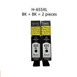 Xiangyu czarny wkład atramentowy 655 kompatybilny z HP 655 655XL Deskjet 3520 3525 4620 4625 5525 6520 6525 drukarka e-all-in-one