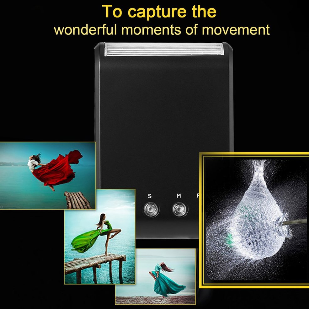5PCS Digital Slave Flash Light Auto Single Contact Standard Flashes For Hotshoe Camera цена и фото