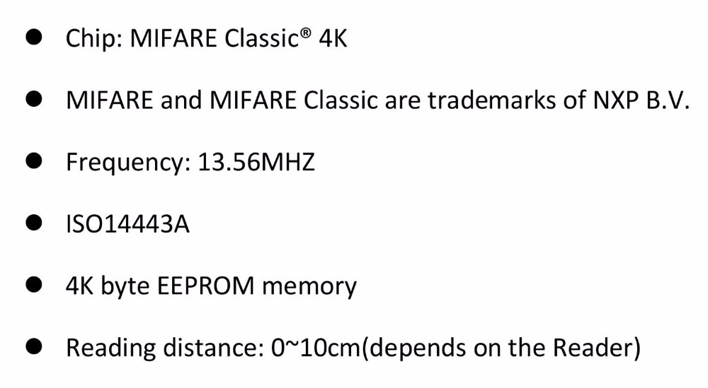 US $78 0 |100pcs/lot 13 56mhz Blue rfid key fob nfc MIFARE Classic 4K tag  For Door Entry access control-in IC/ID Card from Security & Protection on