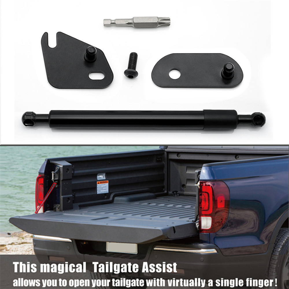 Car Styling 1pc Car Rear Trunk Lift Support Hydraulic Rod shock Bars bracket Accessories For Ford F150 F 150 2015 2016 2017 2018