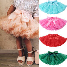 Multi-style Little Girls Tutu Skirts Kids Baby Girl Tutu Cake Layered Skirt Petticoat Princess Fluffy Underskirt Party Clothes(China)