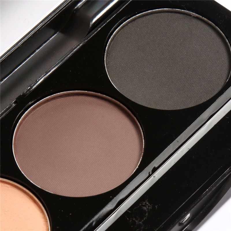 FOCALLUR marque maquillage sourcil automatique Pro poudre imperméable maquillage 3 Style peinture sourcil brosse cosmétiques sourcils Palette outils