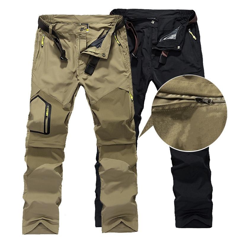 Man Winter Fishing Waterproof Thermal Camping Trekking Fleece Outdoor Hiking Pants Climbing Skiing Sport Softshell Trouser 2019