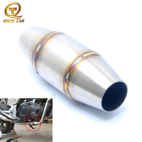 Cross Country Motorcycle Exhaust Pipe 35MM Muffler Catalyst Expansion Chamber For CRF RMZ DRZ KTM YZF