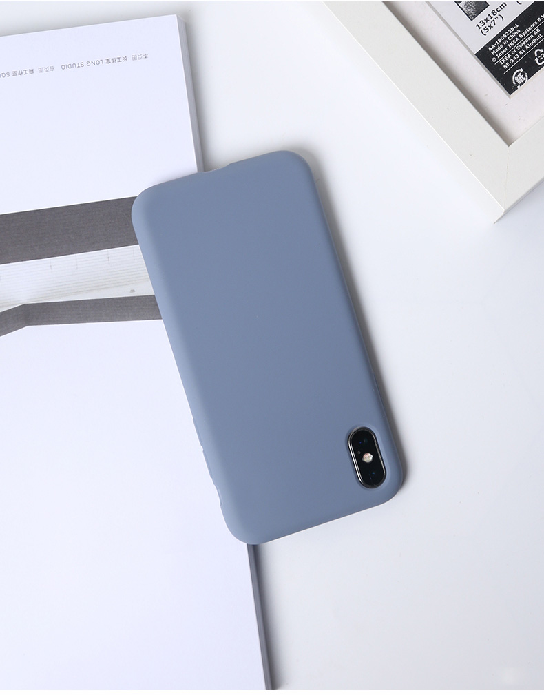 Silicone Case for Apple iPhone 19