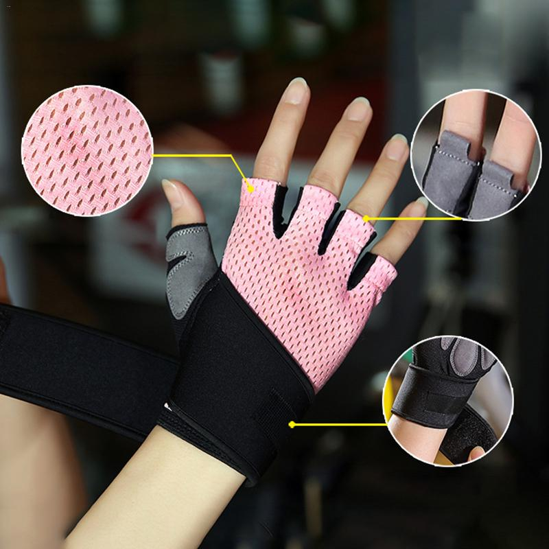 Men Women Custom Fitness Gym Exercise Training Gym Gloves Body Building Training Sports Fitness Weight Lifting Gloves boodun crossfit gym gloves men women body building fingerless fitness glove anti slip weight lifting sport training half finger