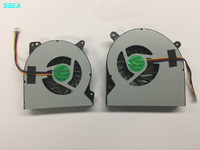 SSEA New CPU GPU Cooling Fan 14mm Thick For Asus G750 G750JW G750J Laptop Cooler Fan