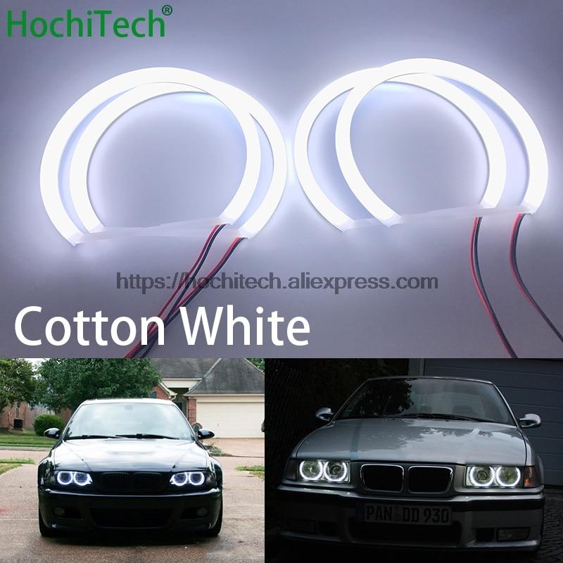 Cotton Headlight SMD LED Angel Eyes Halo Rings For BMW E38 E39 E46 3 5 7 Series