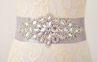 2015Hot Selling Handmade Bridal Sash Beautiful Luxurious Crystal Rhinestone Pearl Czech Stones Wedding Dress Belt