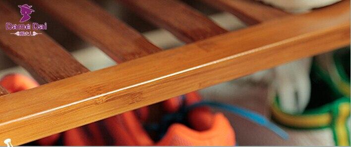 Bambú Banco Zapatero organizador de almacenamiento muebles de bambú ...