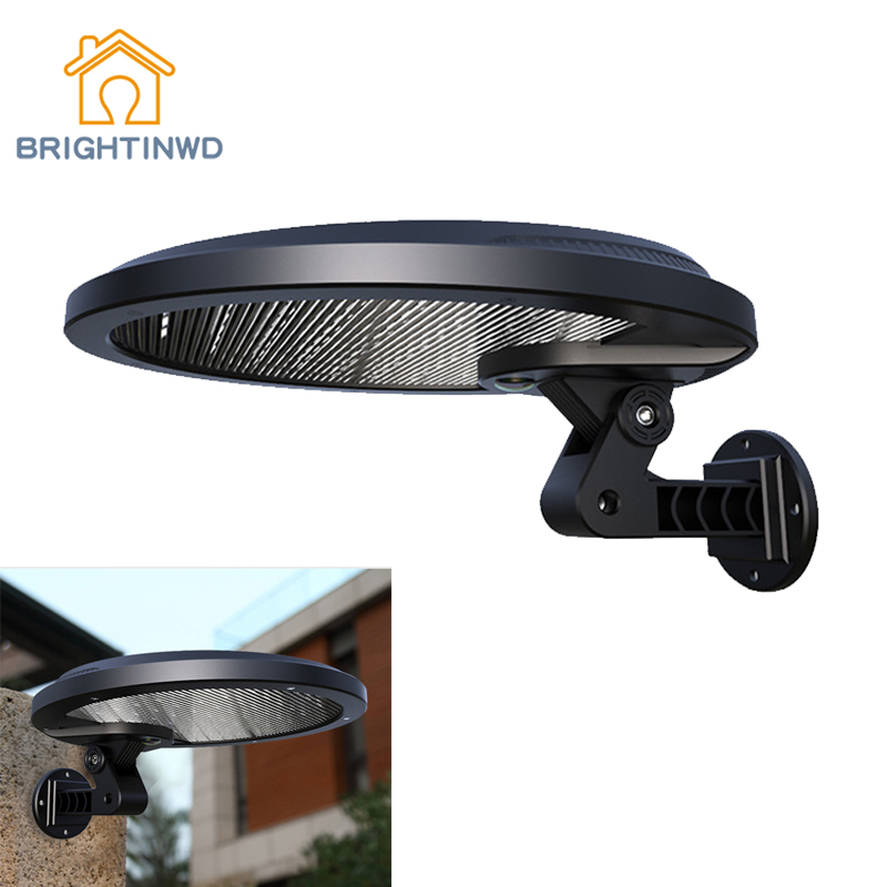 LED Solar Light Outdoor Motion Sensor Wall Lamp Solar Power For Garden Street Lighting Waterproof Night Path Emergency Lights