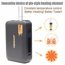 Vapesoon Heating LTN Box Mod Kit 1800mah heat no burn electronic cigarette Vaporizer for heating Tobacco cartridge Dry cigarette цены