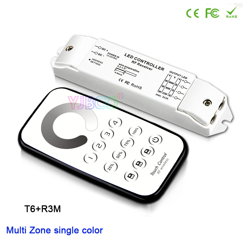 Useful Bc-422 Pwm Cv Color Temperature Controller Dip Switch And Duplex Push Dim Button Dc12v-24v Input;8a*2ch Output For Led Strip Lights & Lighting