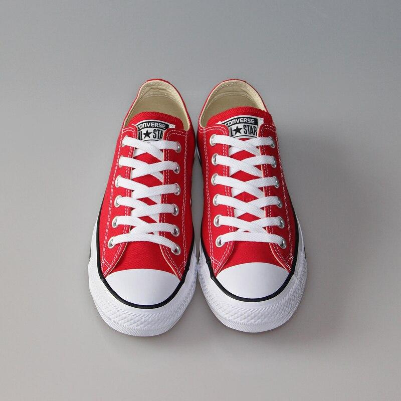 Original Converse classique all star chaussures en toile hommes et femmes baskets basses classiques chaussures de skate 4 couleurs - 5