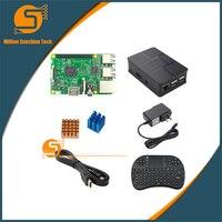 UK RS Version Raspberry Pi 3 Heat Sink Case Box Power Charger Plug 1 5m HDMI
