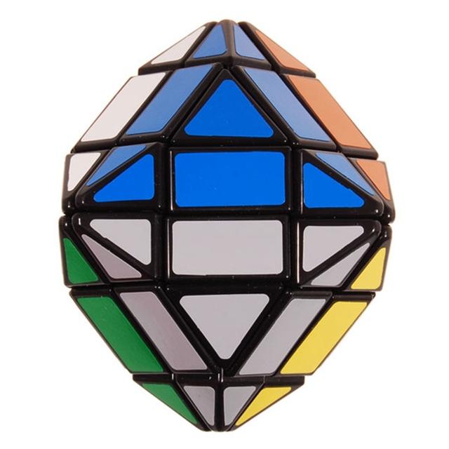 A Estrenar 4x4x4 LanLan Top Cubo Mágico Negro Puzzle Toy Juguetes Educativos Especiales