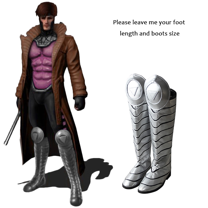 X Men Gambit Cosplay Boots Cosplay Costume Shoes Adult Men Halloween Christmas Costume Cosplay Accessories Male Custom Made in X-Men Gambit Cosplay Boots ...  sc 1 st  Aliexpress & X Men Gambit Cosplay Boots Cosplay Costume Shoes Adult Men Halloween ...