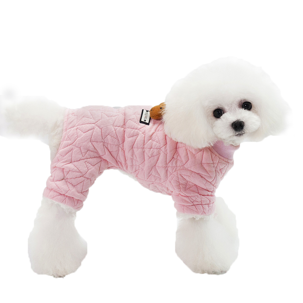 Dog Clothing & Shoes Soft Four Legs Pet Dog Cotton Winter Coat Clothes With Lamp Decoration From S To Xxl Dog Warm Coat Dogs Clothes Jumpsuits & Rompers