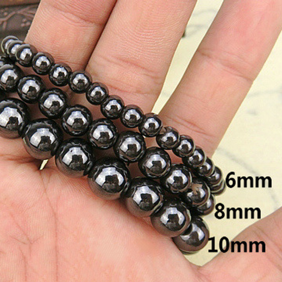 bracelet silver premium bead products mens lava stretch cracked beads and crystal