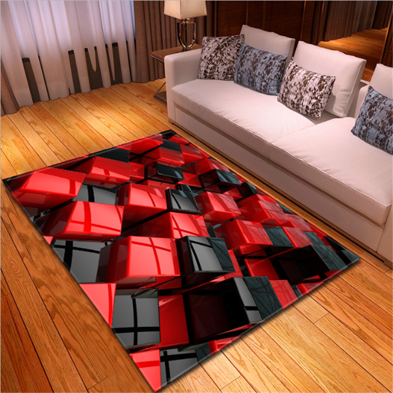 US $26.19 30% OFF AOVOLL 2019 Creative 3D LEGO Living Room Carpets Floor  Mats Carpets Kids Room Rugs And Carpets For Home Living Room-in Carpet from  ...