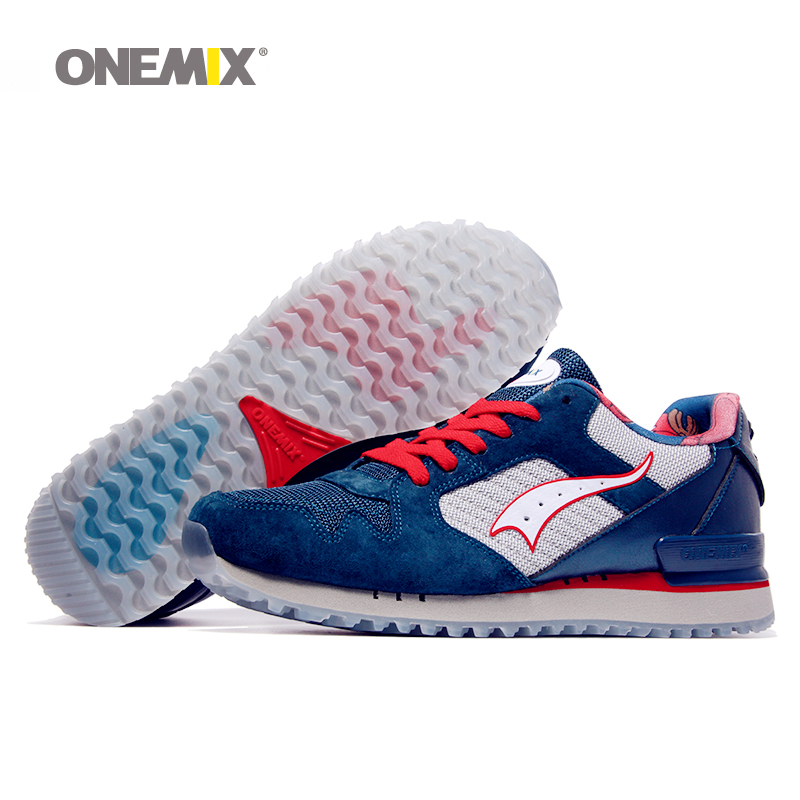 ONEMIX New Men Running Shoes For Women Mesh Run Sports Shoe Agan Retro Classic Athletic Trainers Outdoor Walking Sneakers 2018 new onemix breathable mesh running shoes for men women light lady trainers walking outdoor sport comfortable sneakers