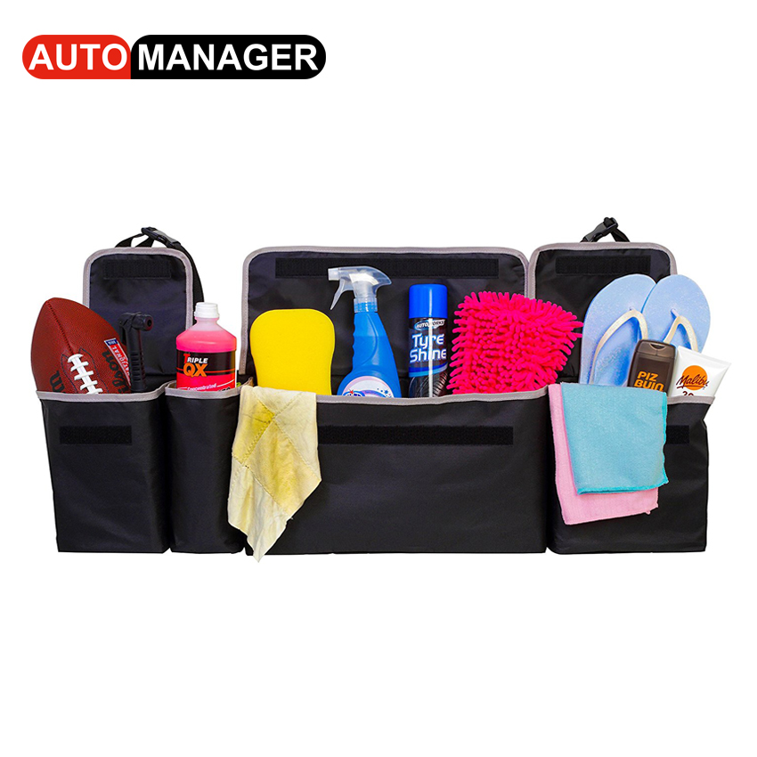 Car Trunk Organizer Backseat Storage Bag Big Size Auto Seat Back Oxford Cloth Organizers Interior Accessories