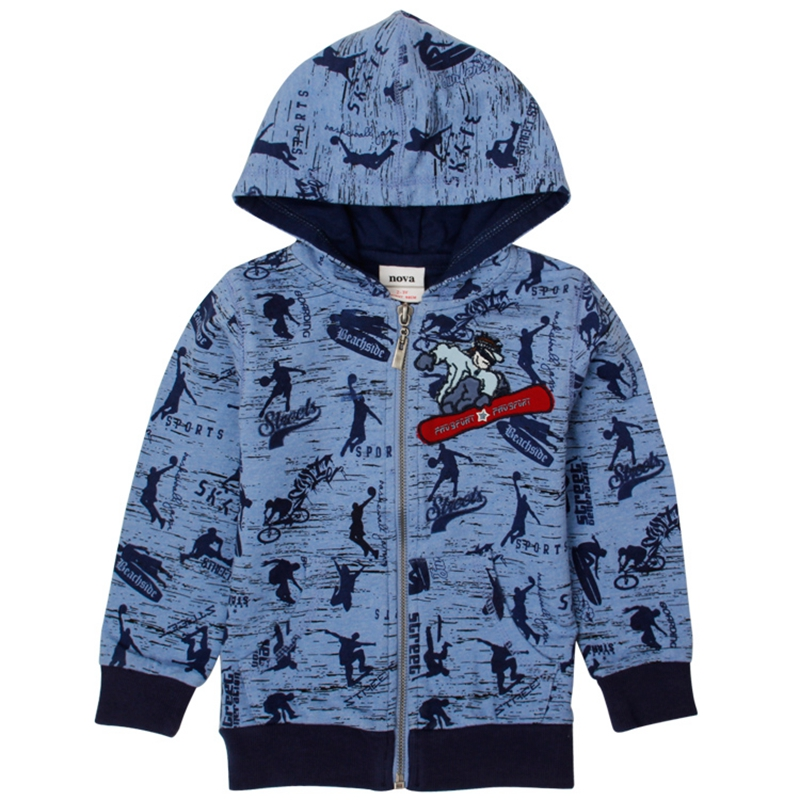 boys winter jacket coats children clothing stripe letters jacket for boys embroidery autumn long sleeve hoodies
