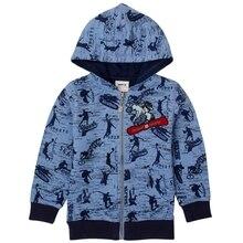 Garçons veste d'hiver manteaux enfants vêtements bande lettres veste pour garçons broderie automne à manches longues hoodies pour garçons A3276