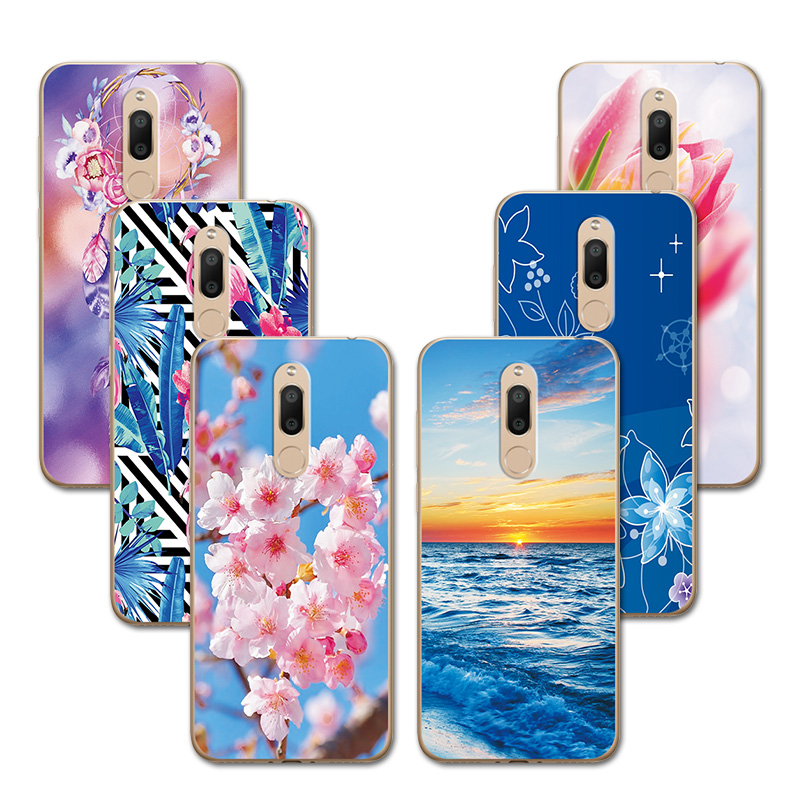 For <font><b>Meizu</b></font> <font><b>M6T</b></font> <font><b>M811H</b></font> Fitted Case New Love Heart Painted Silicone Phone Case For <font><b>Meizu</b></font> M6 T 5.7
