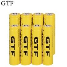 GTF 18650 3,7 V 9800mAh литий-ионная аккумуляторная батарея, литий-ионные батареи для фонарика, налобного фонаря, электронная игрушка, Прямая поставка