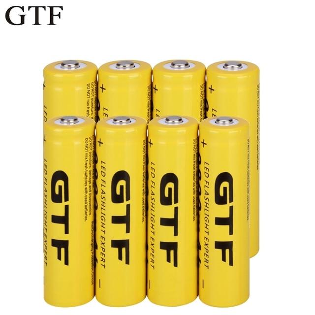 GTF 18650 3.7 V 9800 mAh Li-Ion pin Có Thể Sạc Lại Pin Lithium ion cho đèn pin đèn pha điện tử đồ chơi thả vận chuyển