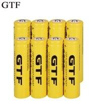 GTF 18650 3 7 V 9800mAh Li-Ion batterie Wiederaufladbare Lithium-ionen Batterien für taschenlampe scheinwerfer elektronische spielzeug drop verschiffen