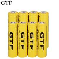 GTF 18650 3.7V 9800mAh Li-ion battery Rechargeable Lithium ion Batteries for flashlight headlamp electronic toy drop shipping